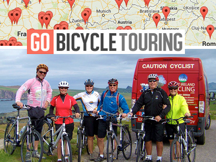 GoBicycleTouring bike tour directory website