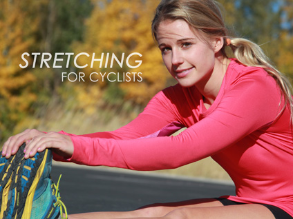 Stretching For Cyclists book cover